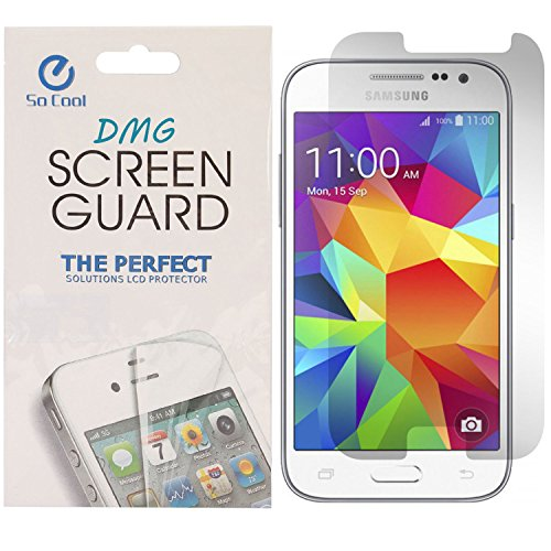 DMG SoCool Screen Protector for Samsung Galaxy Core Prime G360H (PACK OF 2 Matte Anti Glare Anti FingerPrint Scratch Guard)  available at amazon for Rs.149