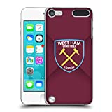 Official West Ham United FC Gradient 2016/17 Crest Hard Back Case for iPod Touch 5th Gen / 6th Gen