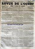 Telecharger Livres REVUE DE L OUEST No 93 du 04 08 1855 JOURNAL POLITIQUE ET D ANNONCES (PDF,EPUB,MOBI) gratuits en Francaise