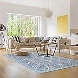 mySPOTTi - Buddy Fernando Rutschfeste Bodenschutzmatte aus Vinyl Badematte Küchenläufer Wohnzimmer Deko (136 x 203 cm)