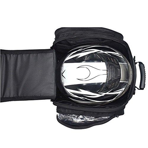 2d8df03560 Magnético Depósito Bolsos del Tanque Hombre para Moto Impermeable Alforjas  Asiento Viaje Caja de Deporte al Aire ...