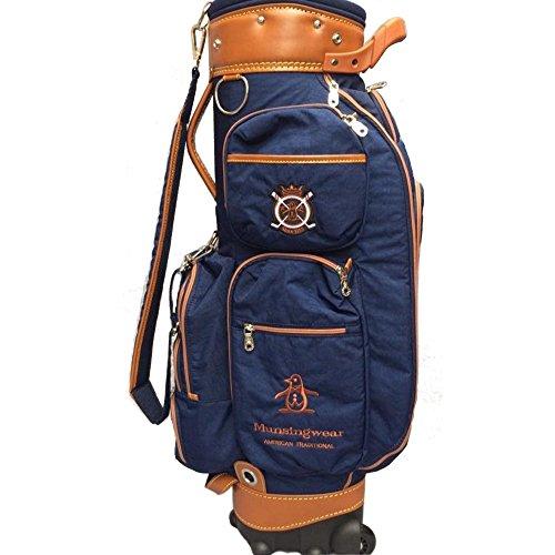 SP Golftasche Golf Bag Golf Cart Tasche mit Rädern Golf Club Taschen-Travel Ball Bag-Mens Damen-Super Leichtgewicht 4kg-Fine Cloth-Grün/Dunkelblau/Rot (Farbe : Dunkelblau)