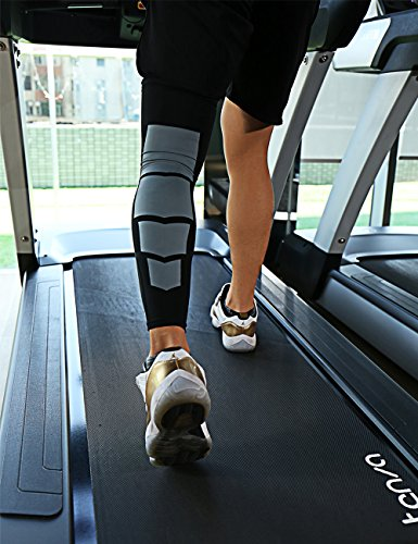FITTOO Knee Calf Compression Long Sleeves Leg Muscle Protection Shin Guard Leg Brace For Cycling Running Football Basketball Sports Support