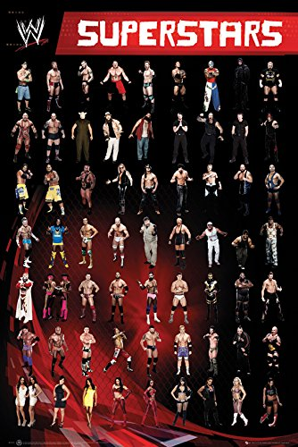 GB eye LTD, WWE, Superstars, Maxi Poster, 61 x 91,5 cm