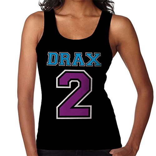 Drax 2 Guardians of the Galaxy Women's Vest Black