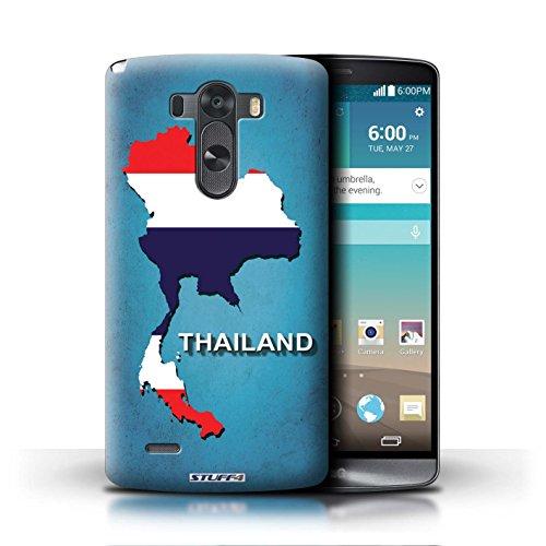 Kobalt® Imprimé Etui / Coque pour LG G3/D850/D855 / Chine/Chinois conception / Série Drapeau Pays Thaïlande/Thai