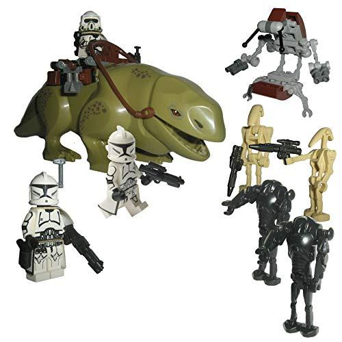 Custom Brick Design Republik Clone Trooper Battle Pack V.2 - modifizierte Minifiguren des bekannten Klemmbausteinherstellers und somit voll kompatibel zu Lego