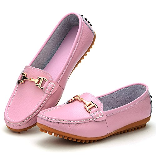 Odema Loafer scarpe mocassine senza tacco da donna Rosa