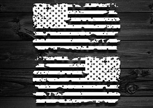 Celycasy Vinyl-Aufkleber, Motiv amerikanische Flagge, für Jeep und Toyota, Laptop-Sticker, Auto-Aufkleber, Berg-Aufkleber, Zubehör für Jeep, USA (Amerikanische Notebook Flagge)