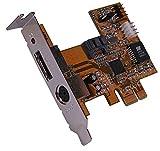 Cablematic PCI-Express-Adapter an SATA2 RAID Flex-ATX (1 + 1 INT EXT)