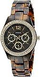 Fossil Women's Stella ES3814 Tortoiseshell Ceramic Quartz Fashion Watch