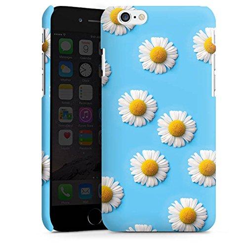 Apple iPhone X Silikon Hülle Case Schutzhülle Gänseblümchen Blumen Blüten Premium Case matt