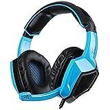 Sades 5 in 1 Stereo Gaming Headset (SA920) - Blue