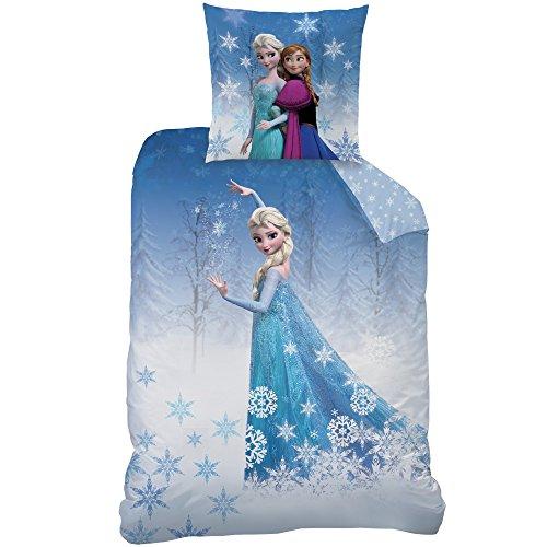 Disney Frozen Frozen Wish Bettwäsche-Set Baumwolle Hellblau 135 x 200 cm 2-Einheiten