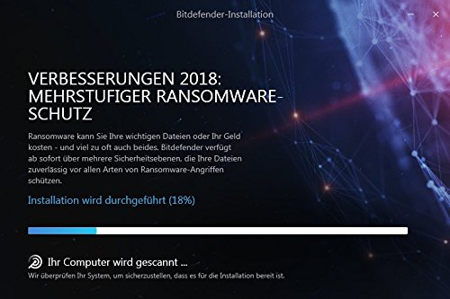 Bitdefender Total Security Multi Device 2018 – 10 Geräte | 1 Jahr / 365 Tage (MAC, Windows, Android & iOS) - Aktivierungscode - 4
