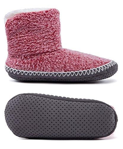 Maamgic, Pantofole Da Donna Bordeaux