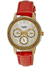 Casio Enticer Analog White Dial Women's Watch - LTP-2087GL-4AVDF (A910)