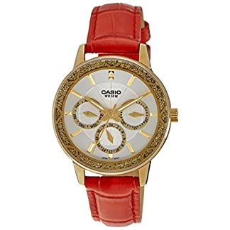 Casio Enticer Analog White Dial Women's Watch – LTP-2087GL-4AVDF (A910)