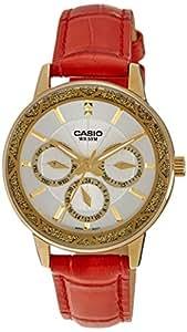 Casio Enticer Analog White Dial Women's Watch - LTP-2087GL-4AVDF (A910)