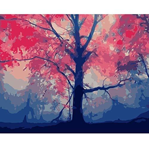 AZYVv Holz Puzzle DIY Puzzles 1000 Stück Fantasy Hölzer Nebel Landschaft Hochzeit Bild Art Game Home Decoration