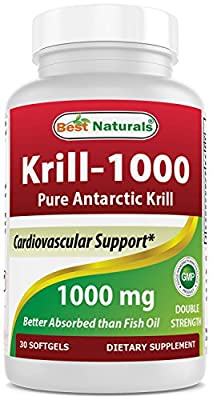 Krill Oil 1000 mg 30 Softgels by Best Naturals