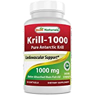 Best Naturals Krill Oil 1000 mg 30 Softgels