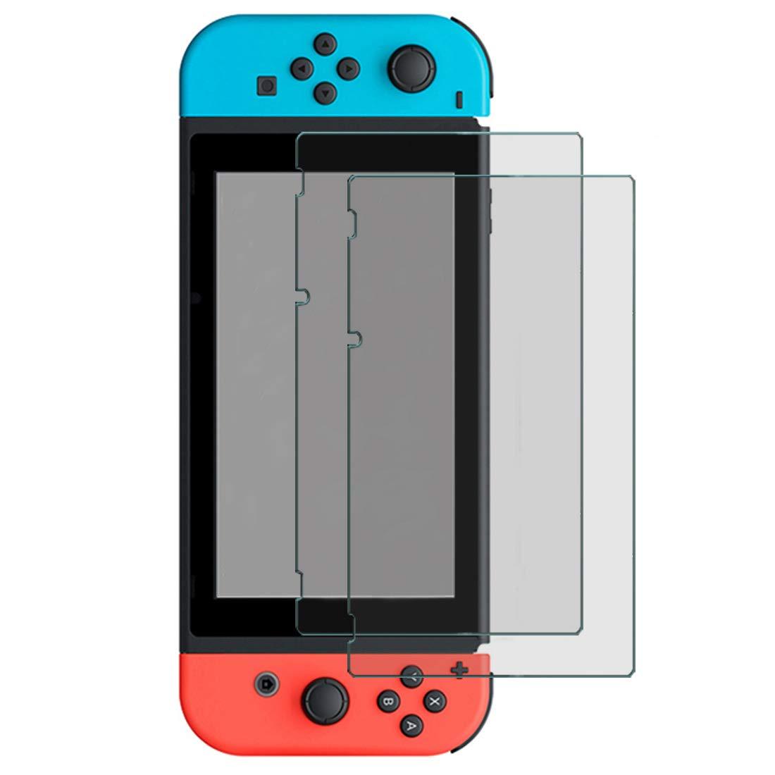 Timorn Ecran Protection Compatible avec Nintendo Switch, HD Clear Protecteur D'écran Protection Ecran Verre Trempé, Commutateur Anti-Rayures Écran Protection Film, 2 Pack