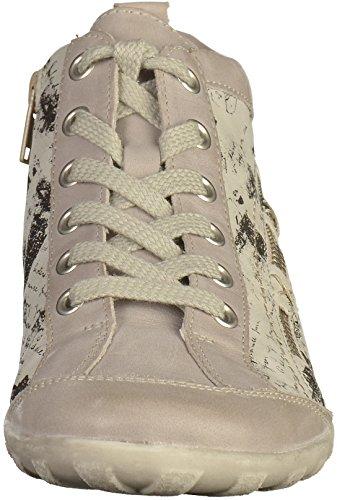 schwarz ice beige Donna R3483 Remonte stivaletti ice ice 80 schwarz ice fOPqx