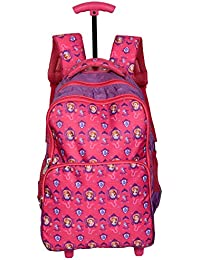 Disney School Bag Trolley For Boys & Girls 7+ Years Sofia The First With Horse Multi Print 29 Liter Pink & Purple...