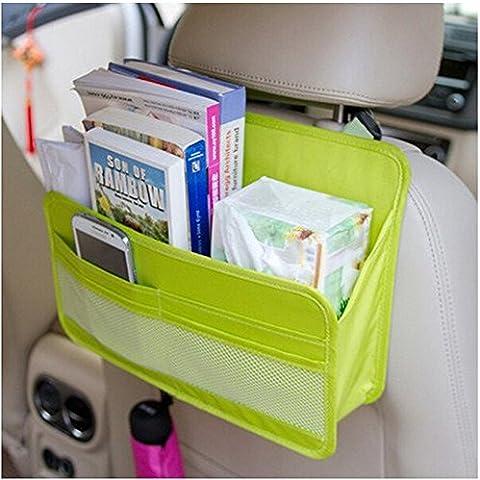 OurKosmos® Sedile posteriore dell'automobile dell'organizzatore della copertura della protezione e Borsa per l'archiviazione di file Magazine Document Organizer sacchetto d'attaccatura