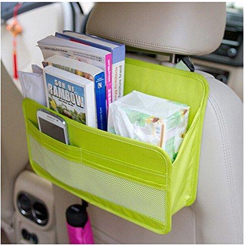 Preisvergleich Produktbild OurKosmos® Auto-Rücksitz-Organisator-Abdeckungs-Schutz und Speicher-Beutel-Akten-Zeitschrift-Dokument-Organisator-hängende Tasche