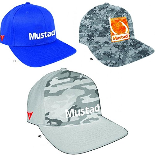 Mustad Multi Fit Cap, grau camo, One Size