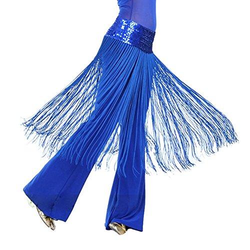 Brightup Schal Gürtel Rock Brillante Hüfte Bauch Oriental Dance Fransen (Indische Tanz Kostüme Bollywood)