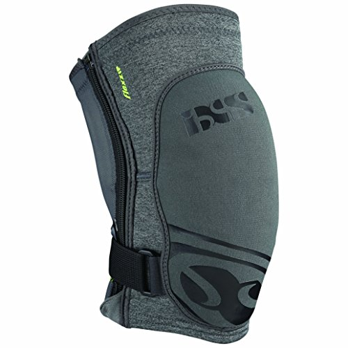 IXS Sports Division Flow Zip Knee pad Knieprotektor, Grey, XL