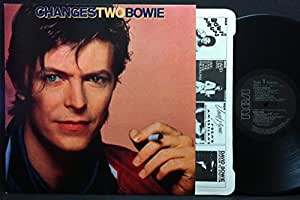 David Bowie Changes Two LP RCA BOWLP3 EX/EX 1981 with inner