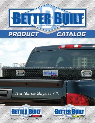 Better Built Catalog (English Edition) (Truck-box-tank)