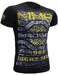 T-Shirt Bad Boy Bunker-xl MMA BJJ Fitness Grappling Camiseta