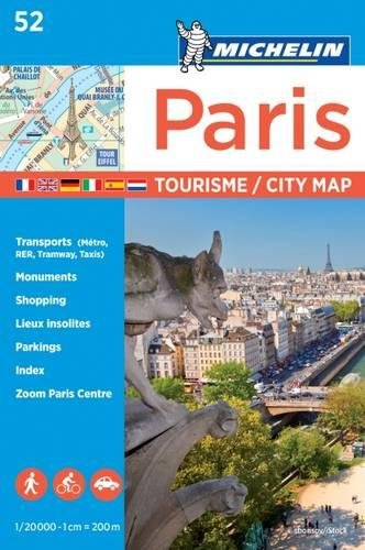 Plano Paris Tourisme (Michelin City Plans) por Michelin