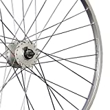 Taylor Wheels 28 Zoll Vorderrad Shimano Nabendynamo DH-3N31 - silber -