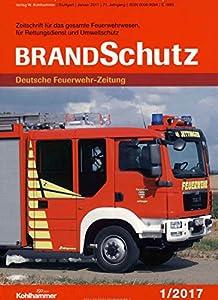 BrandSchutz Deutsche Feuerwehr-Zeitung [Jahresabo