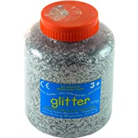 Anthony Peters Silver Art and Craft Glitter - 400g Tub