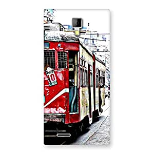 Luxirious Kolkatta Multvcolore Back Case Cover for Micromax Canvas Xpress A99