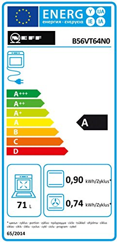 Neff BVT 5664 N Backofen Elektro / 71 L / mit 14 Beheizungsarten / edelstahl - 2
