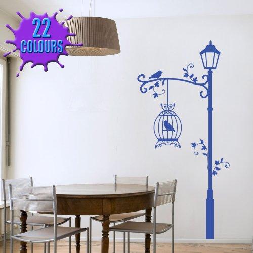 lampadaire-decoratif-et-cage-a-oiseaux-art-mural-en-vinyle-salon-chambre-salle-a-manger-x-grand