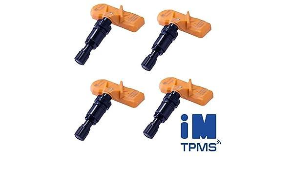 4 Reifendrucksensoren RDKS IM TPMS f/ür Jeep Cherokee Compass Patriot Wrangler Reifendruckkontrollsystem 6500-B