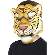 Smiffys Máscara de Tigre, Amarillo y Negro, ...