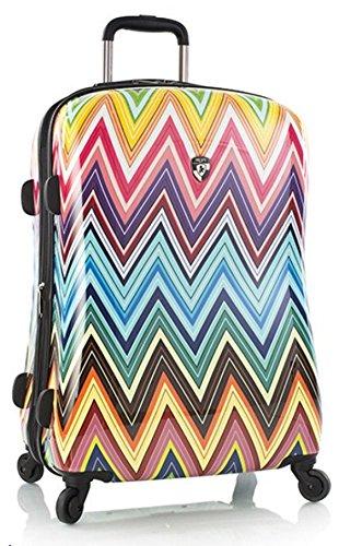 Heys Koffer L Colour 66x43x28 cm + Erweiterbar mit Dehnfalte Hartschalen Reisekoffer Gepäck Trolley Case Bowatex