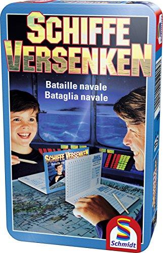 Preisvergleich Produktbild Schmidt Spiele - Schiffe versenken, Metalldose