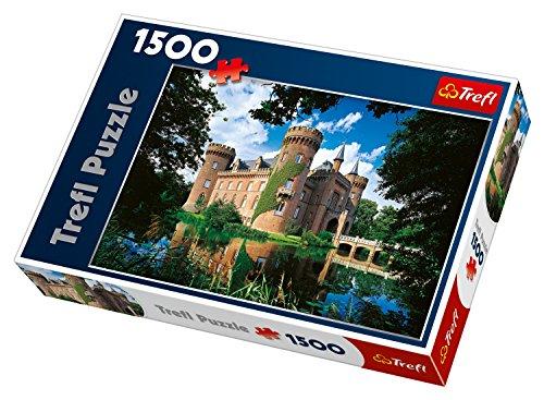 Trefl 26074 Puzzle castello Moyland, North Rhine-Westphalia, Germania, con 1500 pezzi