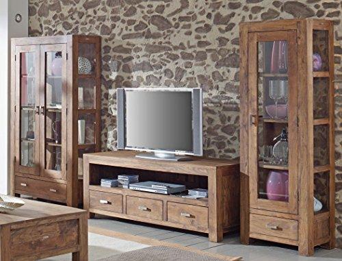 lowboard bihar akazie massiv stone tv m bel tv schrank. Black Bedroom Furniture Sets. Home Design Ideas